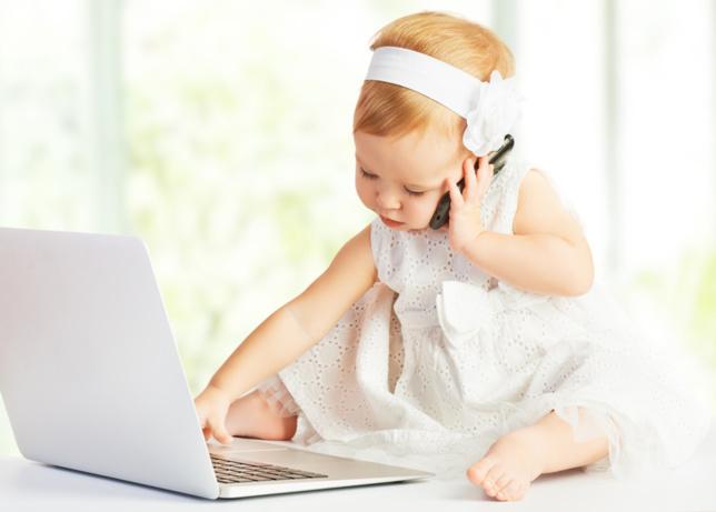bébé internet
